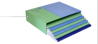 Slipcase with Concealed Wire-O Books